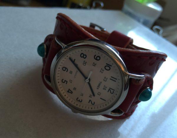 革バンド交換済 腕時計 写真1