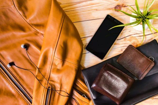 革製品の写真