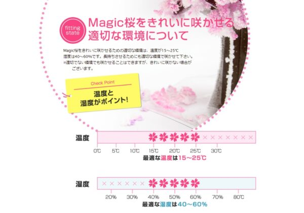Magic桜 適切な環境 画像
