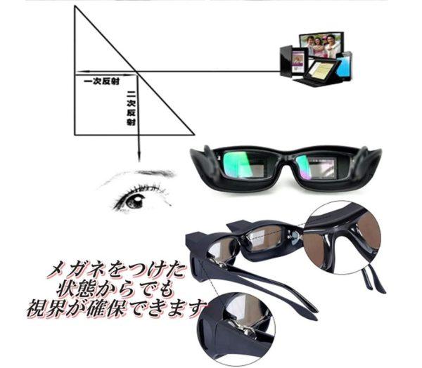 プリズム反射メガネ 写真3
