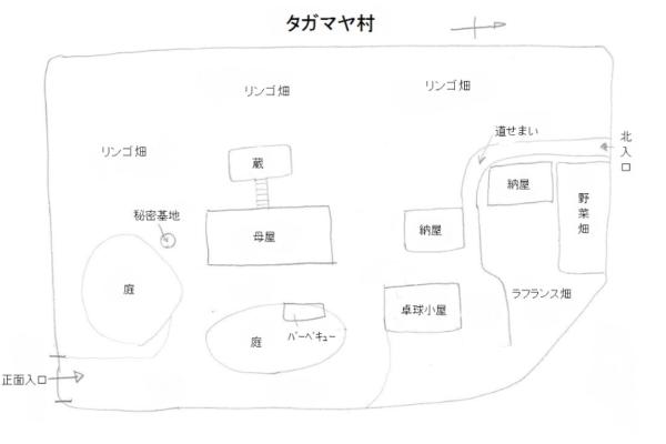タマガヤ村 敷地図 写真