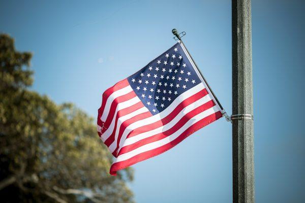 アメリカ合衆国 国旗 写真