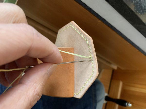 糸の始末 やり方 写真1