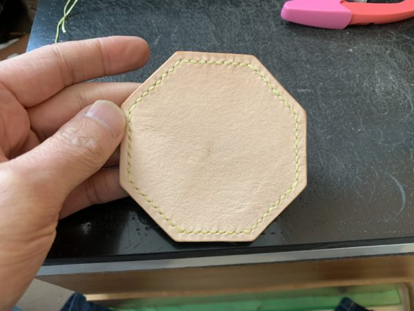 手縫い完成 表面 写真