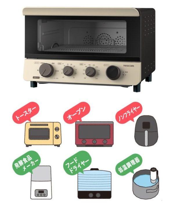 テスコム 低温コンベクションオーブン 画像