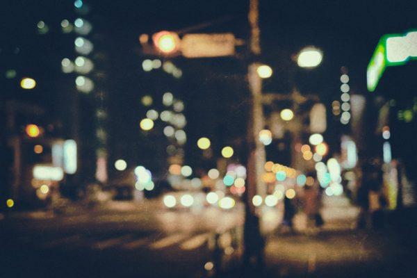 夜の街並み 写真