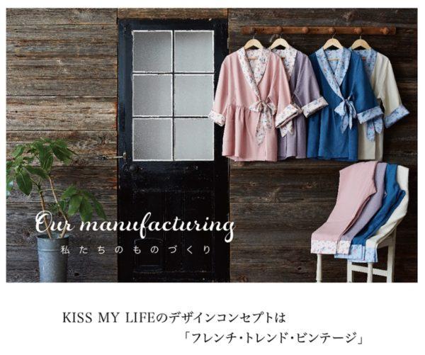 KISS MY LIFE デザインコンセプト 写真