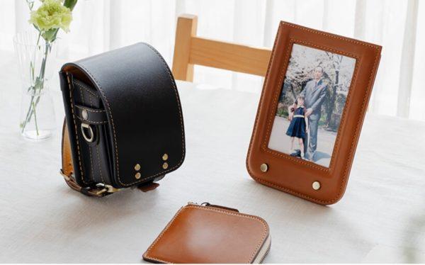 土屋鞄のランドセル リメイク製品 画像