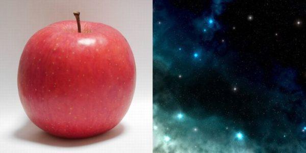 AppleとGalaxy 写真
