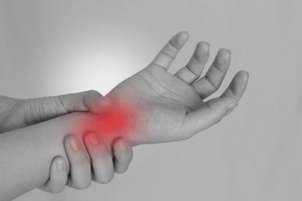 手首の痛み 写真