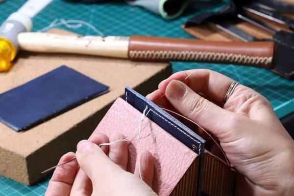 手縫い 写真