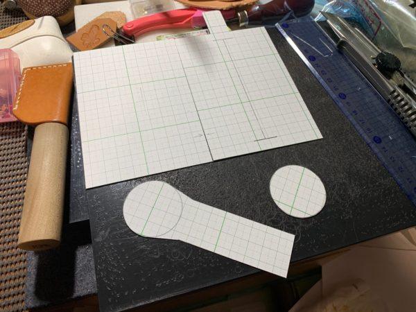 IKK-Kumi ティッシュケース 型紙