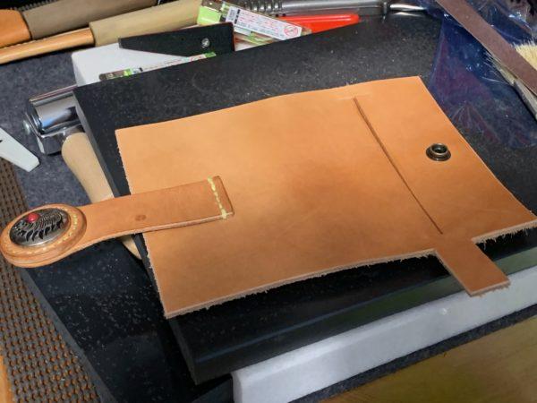 IKK-Kumi ティッシュケース 手縫い