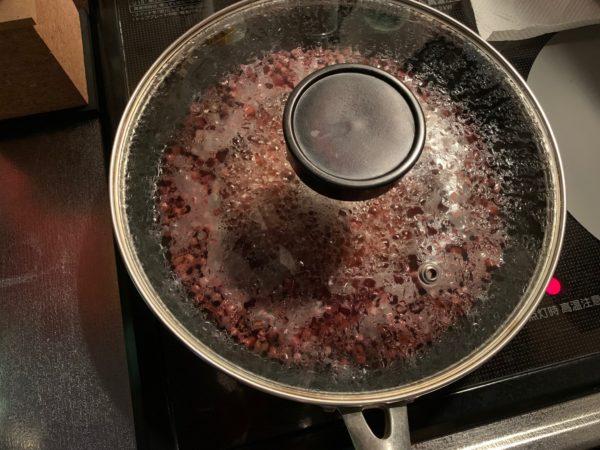 煮る時間と火加減 写真