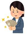 お金持ちの女性 画像
