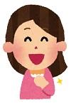 笑顔の女性 画像