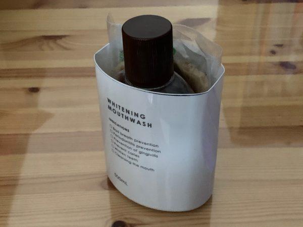 マウスウォッシュ 空き容器 活用例 写真