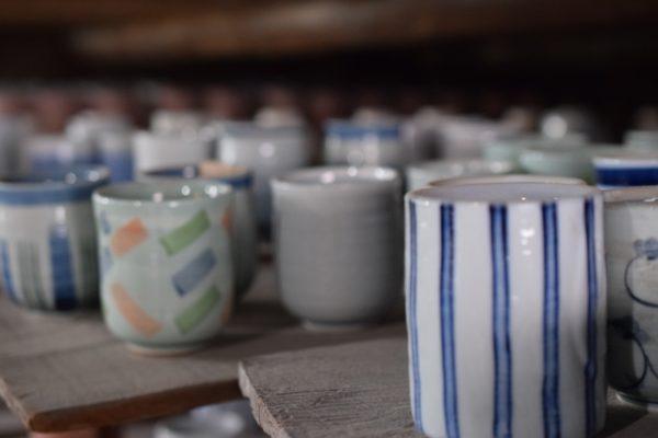 焼き物 湯呑茶碗 写真