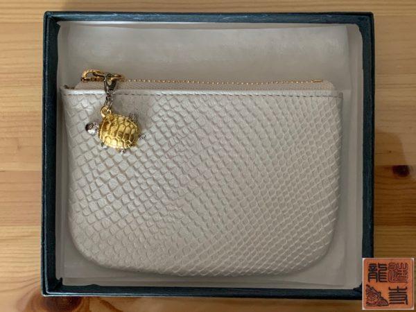財布屋 サービス品 カードが入る小銭入れ 商品状態 写真