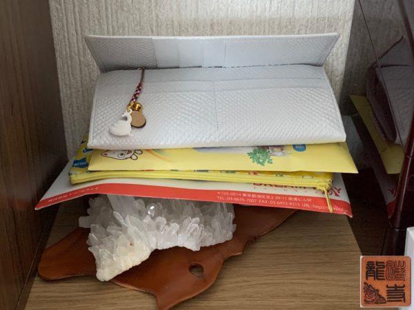 財布屋 白蛇シンプルイズベスト束入れ 写真