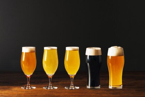 各種クラフトビール 写真