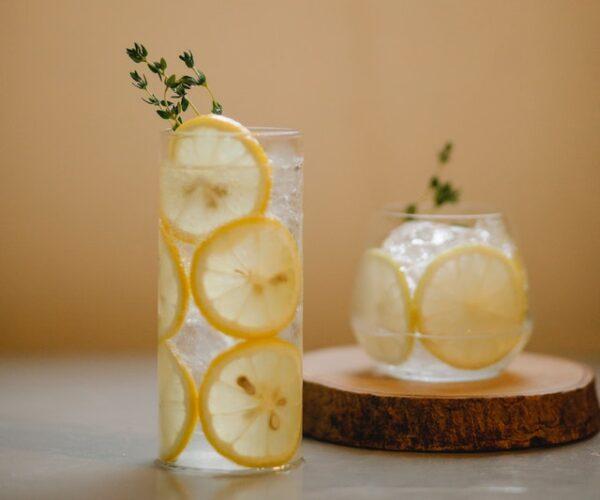 レモン漬けジュース 写真