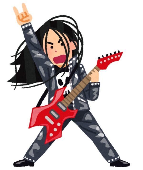 いらすとや ヘヴィメタル ギタリスト 画像