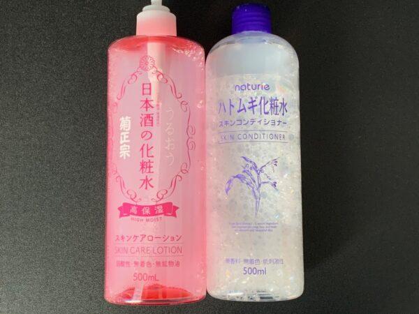 日本酒の化粧水 ハトムギ化粧水 写真