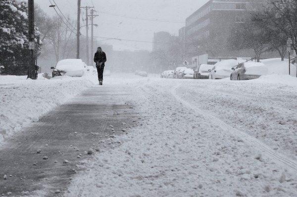 冬の道路 写真