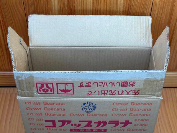 ダンボール箱製ゴミ箱 作り方 写真