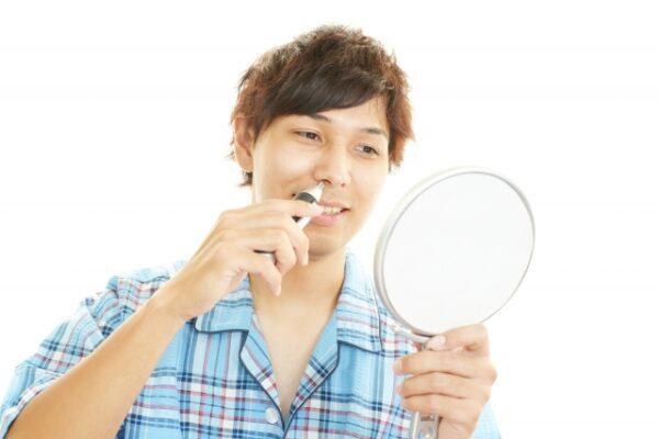 鼻毛処理 鼻毛カッター 写真