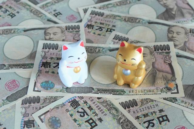 金運を運ぶ招き猫 写真